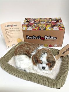 Perfect Petzzz Huggable Breathing Puppy Dog Pet Bed Shih Tzu Check more at http://www.indian-shopping.in/product/perfect-petzzz-huggable-breathing-puppy-dog-pet-bed-shih-tzu/