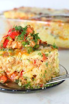 Hash Brown Lasagna -