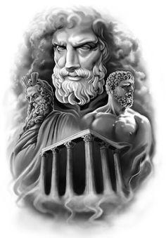 greek fantasy tattoo drawings - Google Search