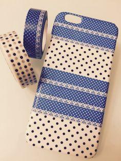 handyhulle selbst gestalten handyhulle selber gestalten mit klebeband in beige und blau