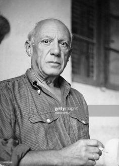 Pablo Picasso pictured in April, 1951.
