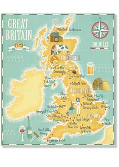 Stuart Kolakovic - Map of Britain