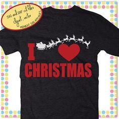 I love ChrisTmas svgsanta claus svgchristmas svgchristmas