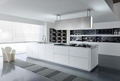 cocinas blancas muebles blancos lacados