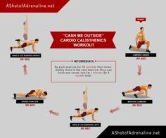 Cash Me Outside Cardio Calisthenics Workout...