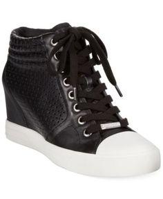 DKNY Cindy Wedge Sneakers   macys.com