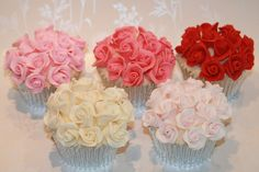 Ruby Wedding Cupcakes- Explored! by The Clever Little Cupcake Company (Amanda), via Flickr