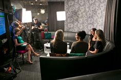 Behind the scenes at the shoot for NYER's Fierce Women Entrepreneurs cover story.