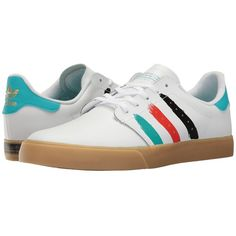 adidas Skateboarding Seeley Court (Footwear White Energy Blue Energy...  ( 65) ❤ liked on Polyvore featuring men s fashion f326ab5e17