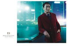 Chow Yun-Fat As Hugo Boss Brand Ambassador Boss Selection, Boss Brand, Brand Ambassador, Chow Chow, Hollywood Stars, Hugo Boss, Luxury Branding, Fat, Menswear