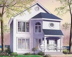 Plan de maison no. W4786 de dessinsdrummond.com