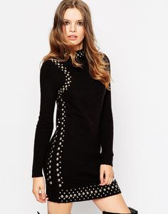 Изображение 1 из Платье с заклепками ASOS