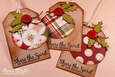 Sizzix Country and Retro Ornament Tags