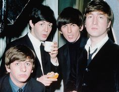 Pinterest | hardtosayno. . .  Richard Starkey, Paul McCartney, George Harrison, and John Lennon