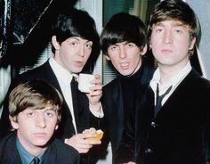 Pinterest | hardtosayno. . .  Richard Starkey, Paul McCartney, George Harrison, and John Lennon