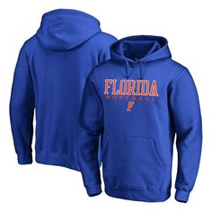 Florida Gators Fanatics Branded True Sport Softball Pullover Hoodie - Royal