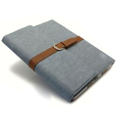 Blue Vintage Portfolio Style Case for iPad 4 3 with Leather Back Cover  http://www.slickfuns.com/blue-vintage-portfolio-style-case-for-ipad-4-3-with-leather-back-cover.html