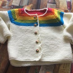 Paintbox Girls cardigan knitting project shared on the LoveKnitting Community. Find more inspiration and upload your own projects on the LoveKnitting Community.