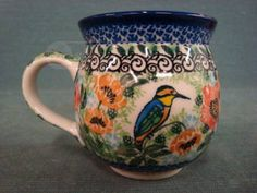 shopgoodwill.com: Hand MAde POLISH Coffee Cup - UNIKAT M. STARZYK