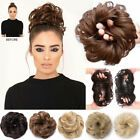 Curly Messy Bun Combs Chignon Scrunchie Updo Cover Hair Extensions as human Curly Hair Pieces, Clip In Hair Pieces, Bun Hair Piece, Curly Hair Styles, Natural Hair Styles, Messy Bun Updo, Chignon Updo, Synthetic Hair Extensions, Clip In Hair Extensions
