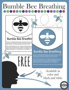 Get your FREE Bumble Bee Breathing Breaks to help reduce stress, sustain attention and get the mind ready to learn from Your Therapy Source. Tap the link to check out fidgets and sensory toys! Mindfulness For Kids, Mindfulness Activities, Coping Skills, Social Skills, Social Work, Life Skills, Deep Breathing Exercises, Yoga Breathing, Belly Breathing