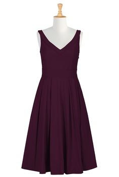 Is dark purple one of the colors? Sleeves can be added to this one. Women's Designer Dresses - Prom Dress, Homecoming Dress, Party Dress - Shop womens Full sleeve dresses CL0033317 | eShakti
