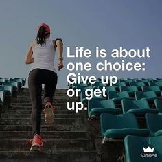 Get up and never give up in life. Positive Quotes For Life, Good Life Quotes, Inspiring Quotes About Life, Best Quotes, Love Quotes, Quotes Images, Struggles In Life, Giving Up Quotes, Inspiration For The Day