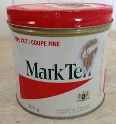 Ancienne boîte de tabac Mark T'en