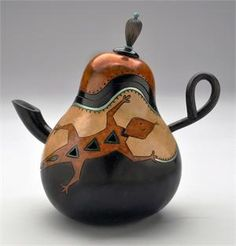 Gourd Teapot by Dianne Connelly