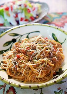 Ready in a flash! --- This One Pot Spaghetti is so easy to make.