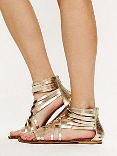 gladiators in golden! Stylish!