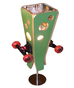 Sk8Lamps | Recycled Skateboards