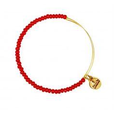 Red  Sea Bead Bangle