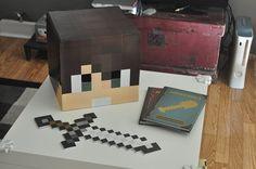 Halloween Minecraft Head | DIY Custom Papercraft Minecraft Head | Life Size by PlayfulMatters