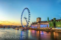 London Eye | La noria de Londres | Londres #london #travel #viajar #turismo #sights www.vivelondres.es