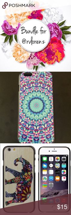 ❤️❤️❤️ Bundle of 2 iPhone 6 cases. Accessories Phone Cases