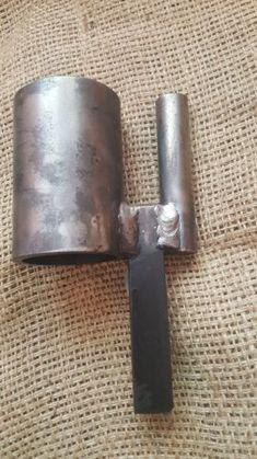 "Blacksmith Hardy Anvil Tool 3/4"" Turning Bending Forge Scrolling Twisting Jig"