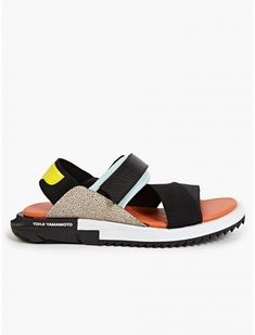 Men Breathable Hollow Out Soft Slip On Leather Casual Flat Shoes. See more.  Image result for Y 3 Adidas Yohji Yamamoto Kaohe KIDS Sandals Kids Sandals a571b73eb
