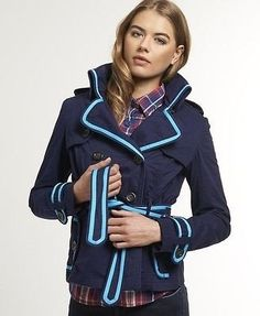Superdry Women's Jackets £37.99 72% OFF!