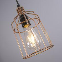 Lámpara colgante FRAME Luxe C cobre #deco #homedeco #interiorismo