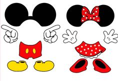 Mickey Mouse Svg and Minnie Mouse SvgDisneySvg Dxf Png Mickey E Minie, Fiesta Mickey Mouse, Theme Mickey, Mickey Party, Disney Mickey, Minne, Minnie Mouse 1st Birthday, Mickey Mouse Clubhouse, Minnie Mouse Party