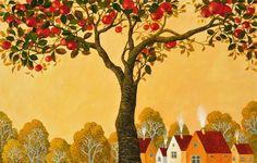 Ілюстрація з книги «Печені яблука»