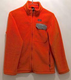 PATAGONIA Synchilla SNAP T Full-Zip Fleece Jacket Kid SZ 12 Boys Unisex Women XS  | eBay