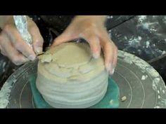 ▶ 茶碗 ろくろ Ceramic pottery wheel Throwing matcha chawan teabowl, trimming. by cory Lum - YouTube