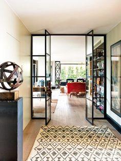 Tour a Beautifully Renovated Barcelona Penthouse via @mydomaine