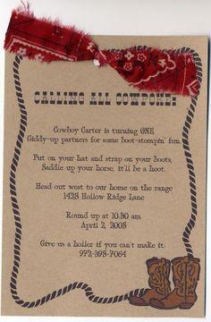 Wild West Singalong -- Love the bandana