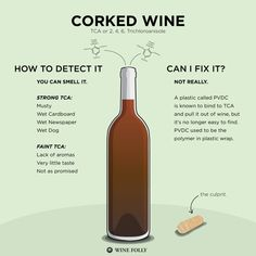Sniffing out a corked wine http://winefolly.com/tutorial/how-to-tell-corked-wine/