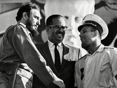 Yuri Gagarin Meets Fidel in Havanna 1961