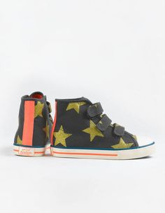 Velcro High Tops 54005 Sneakers & Plimsolls at Boden