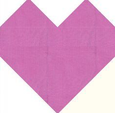 Classic Heart Quilt Block Pattern